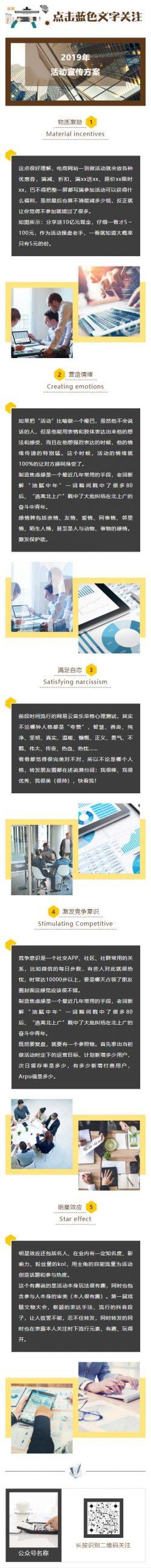 电商网站活动营销方案优惠活动推广微信模板