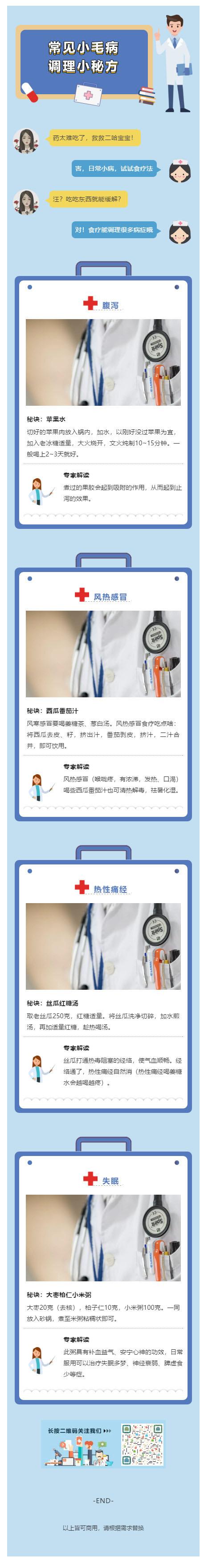 2019新型冠状病毒肺炎医疗模板微信公众号推文素材推送文章模板