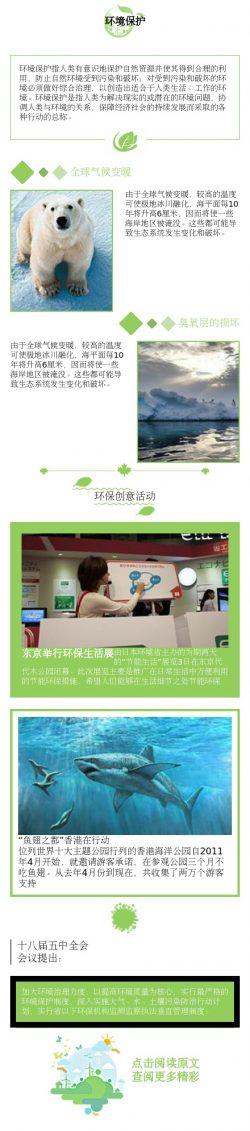 绿色环境保护环保模板
