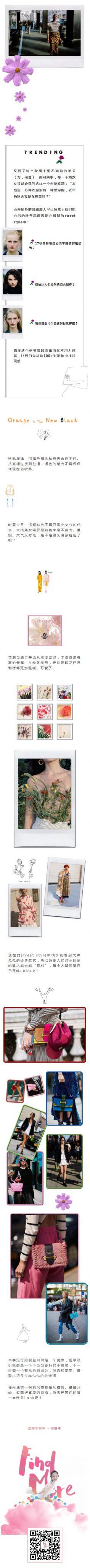 衣服时装产品女装介绍文章模板